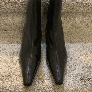 Pointed Toed Baker's Ankle Boots